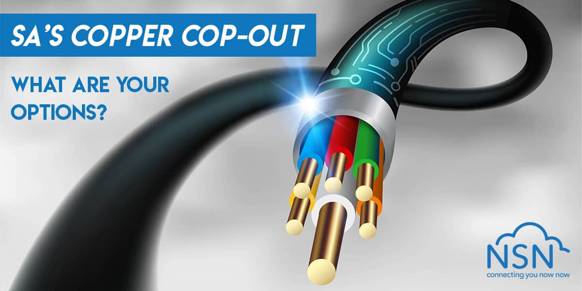 South Africa's Copper Cop-Out, what are your options?